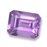 thumb image of 2.5ct Octagon Step Cut Violet Amethyst (ID: 457876)