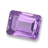 thumb image of 2.2ct Octagon Step Cut Violet Amethyst (ID: 457877)