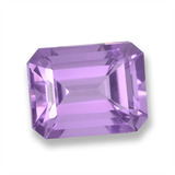 thumb image of 2.4ct Octagon Step Cut Violet Amethyst (ID: 457880)