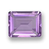 thumb image of 1.9ct Octagon Step Cut Violet Amethyst (ID: 457883)