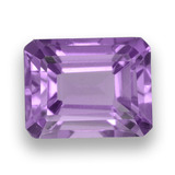 thumb image of 2.6ct Octagon Step Cut Violet Amethyst (ID: 457993)