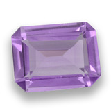 thumb image of 1.6ct Octagon Step Cut Violet Amethyst (ID: 457995)