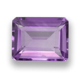 thumb image of 2ct Octagon Step Cut Violet Amethyst (ID: 457996)
