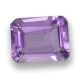 thumb image of 2.2ct Octagon Step Cut Violet Amethyst (ID: 457997)