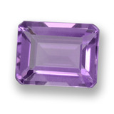 thumb image of 2.3ct Octagon Step Cut Violet Amethyst (ID: 457998)