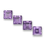 thumb image of 4.1ct Square Step-Cut Violet Amethyst (ID: 458032)