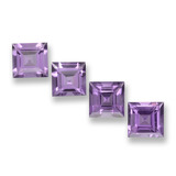 thumb image of 3.9ct Square Step-Cut Violet Amethyst (ID: 458034)