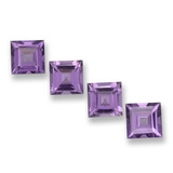 thumb image of 4ct Square Step-Cut Violet Amethyst (ID: 458036)