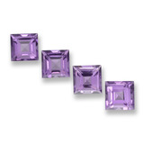 thumb image of 4.1ct Square Step-Cut Violet Amethyst (ID: 458038)