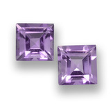 thumb image of 2ct Square Step-Cut Violet Amethyst (ID: 458083)