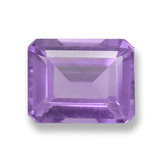 thumb image of 2ct Octagon Step Cut Violet Amethyst (ID: 458112)