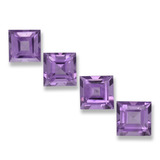 thumb image of 4.1ct Square Step-Cut Violet Amethyst (ID: 458114)