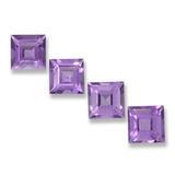 thumb image of 4ct Square Step-Cut Violet Amethyst (ID: 458116)