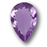thumb image of 3.9ct Pear Facet Violet Amethyst (ID: 458413)