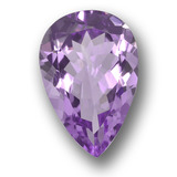 thumb image of 4.9ct Pear Facet Violet Amethyst (ID: 458418)