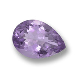 thumb image of 5.3ct Pear Facet Violet Amethyst (ID: 458420)