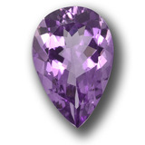 thumb image of 4.9ct Pear Facet Violet Amethyst (ID: 458439)