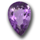 thumb image of 4.9ct Pear Facet Violet Amethyst (ID: 458447)