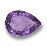 thumb image of 7.8ct Pear Facet Violet Amethyst (ID: 458459)