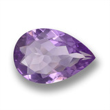 thumb image of 3.7ct Pear Facet Violet Amethyst (ID: 458624)