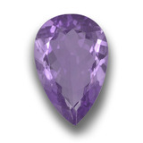 thumb image of 4.4ct Pear Facet Violet Amethyst (ID: 458629)
