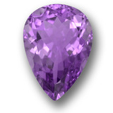 thumb image of 9.9ct Pear Facet Violet Amethyst (ID: 458697)