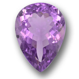 thumb image of 9.9ct Pear Facet Violet Amethyst (ID: 458700)
