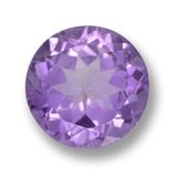 thumb image of 6ct Round Facet Violet Amethyst (ID: 459474)