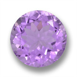 thumb image of 7.1ct Round Facet Violet Amethyst (ID: 459661)