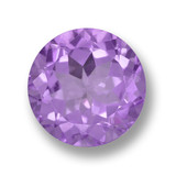 thumb image of 4.4ct Round Facet Violet Amethyst (ID: 459773)