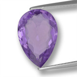 thumb image of 4.8ct Pear Facet Violet Amethyst (ID: 459818)