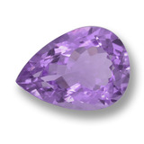thumb image of 10.7ct Pear Facet Violet Amethyst (ID: 459828)