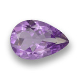 thumb image of 3ct Pear Facet Violet Amethyst (ID: 459830)