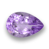 thumb image of 6.3ct Pear Facet Violet Amethyst (ID: 459837)