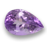 thumb image of 5.9ct Pear Facet Violet Amethyst (ID: 459839)
