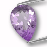 thumb image of 3ct Pear Facet Violet Amethyst (ID: 459944)
