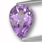 thumb image of 3.7ct Pear Facet Violet Amethyst (ID: 459945)