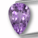 thumb image of 3.7ct Pear Facet Violet Amethyst (ID: 459946)
