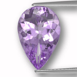 thumb image of 4.6ct Pear Facet Violet Amethyst (ID: 459948)
