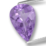 thumb image of 3.4ct Pear Facet Violet Amethyst (ID: 459988)