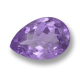 thumb image of 3.5ct Pear Facet Violet Amethyst (ID: 459994)