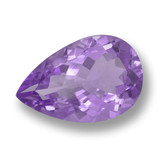 thumb image of 4.7ct Pear Facet Violet Amethyst (ID: 459998)
