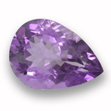 thumb image of 10ct Pear Facet Violet Amethyst (ID: 460035)