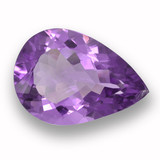 thumb image of 8.4ct Pear Facet Violet Amethyst (ID: 460046)