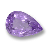thumb image of 5.9ct Pear Facet Violet Amethyst (ID: 460072)