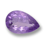 thumb image of 4.5ct Pear Facet Violet Amethyst (ID: 460076)