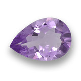 thumb image of 2.9ct Pear Facet Violet Amethyst (ID: 460113)