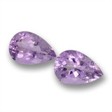 thumb image of 7.3ct Pear Facet Violet Amethyst (ID: 460251)