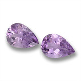 thumb image of 7.5ct Pear Facet Violet Amethyst (ID: 460260)
