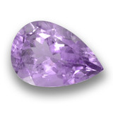thumb image of 3.8ct Pear Facet Violet Amethyst (ID: 460340)